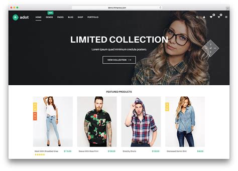 themes online store wordpress 52 awesome ecommerce wordpress themes 2018 colorlib