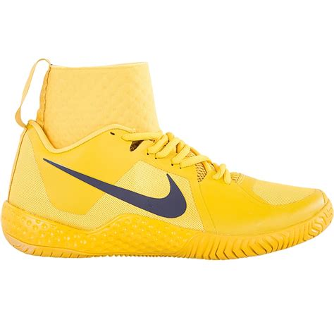 nike flare s tennis shoes yellow blue