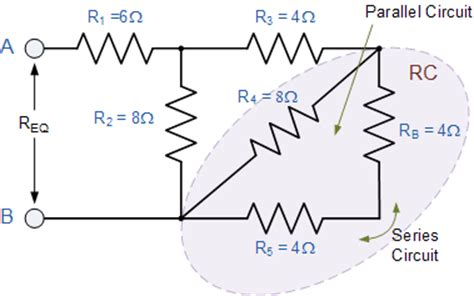resistor circuit combination resistors in series and parallel sankethika