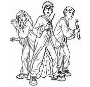 Harry Potter Coloring Page &amp Book