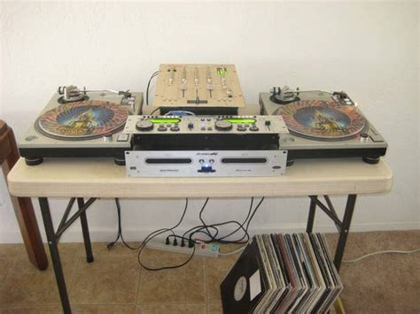 Dj Tables For Sale by Complete Dj Setup Turntables Cd Tables Mixer Vinyl For