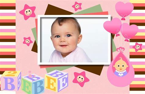 decorar fotos de bebes gratis marco para nacimiento de nena marcos para fotos gratis