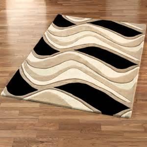 Kitchen Floor Cleaner - waves rug