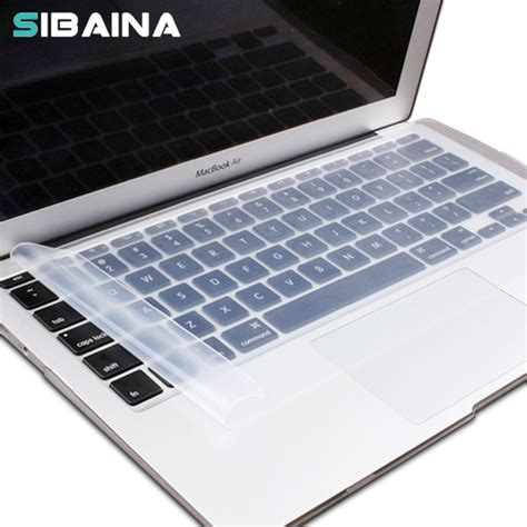 Best Tas Macbook Pro 13 Clear aliexpress buy clear silicone keyboard cover for