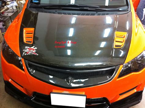 honda civic type r orange orange civic type r racingstyle design