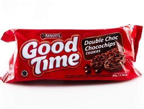 resep kue good time cookies renyah  enak sederhana
