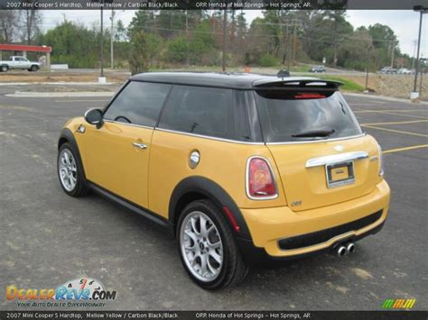 Mini Cooper Yellow by Mellow Yellow 2007 Mini Cooper S Hardtop Photo 3
