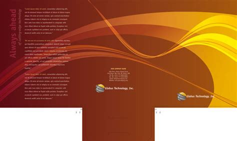 free indesign templates presentation folders 2