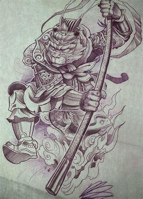 king tattoo ideas monkey king design tattoos monkey