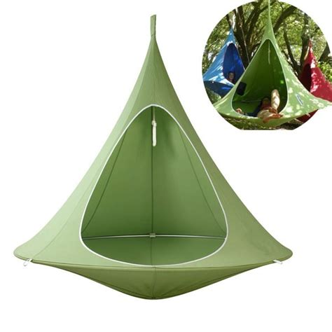 pod 2 person camping swing chair treepod hammock tent