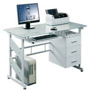 white computer table white glass computer table for sale