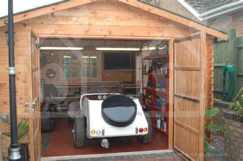 wooden garages timber carports prefab kits  sale