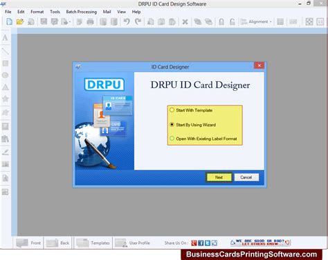 id card design software review id card software business office suites tools
