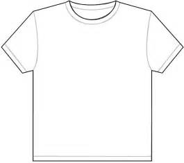 T Shirt Outline plain white t shirt outline