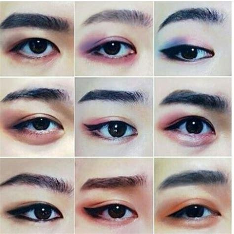 Kuas Eye Shadow Lay Ba exo makeup