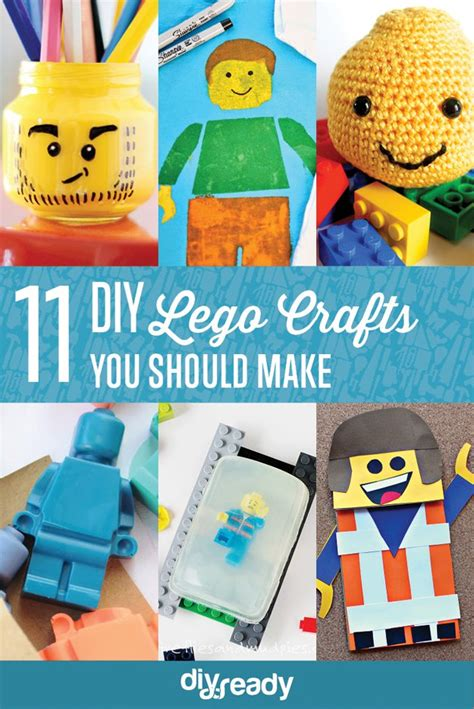 11 diy lego inspired crafts for kids and adults shelterness diy lego crafts diy projects craft ideas how to s for