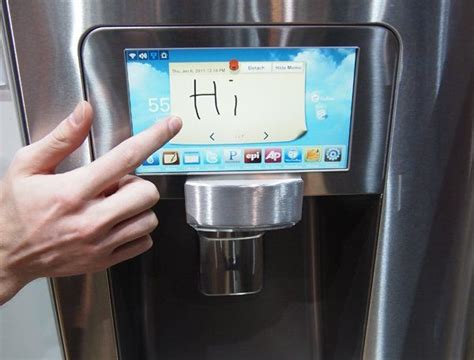Images Of Model Homes Interiors samsung s latest hi tech refrigerator for the geeks hometone