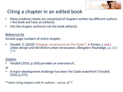 reference harvard book chapter hout cite harvard 2011