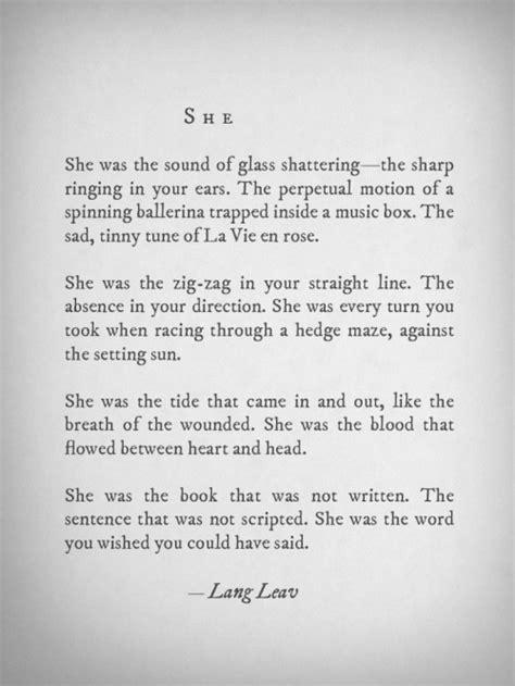 and goes toã books popular quotes lit new prose poetry lang leav langleav