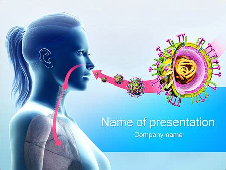 virus powerpoint template virus infection powerpoint template backgrounds id