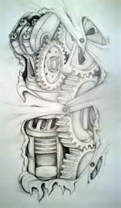bionic tattoo designs 1000 ideas about biomechanical
