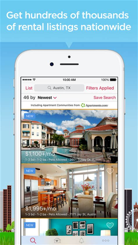 realtor rentals apartments houses for rent app