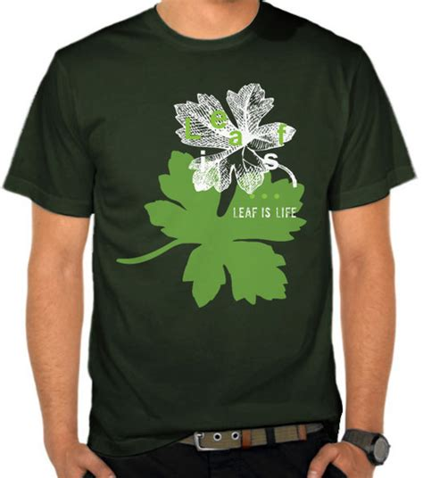 Kaos Baju Parkour 1 jual kaos leaf is casual lifestyle satubaju