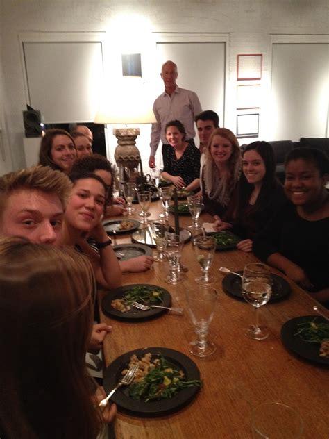 dinner host teach in new york center for learning in action