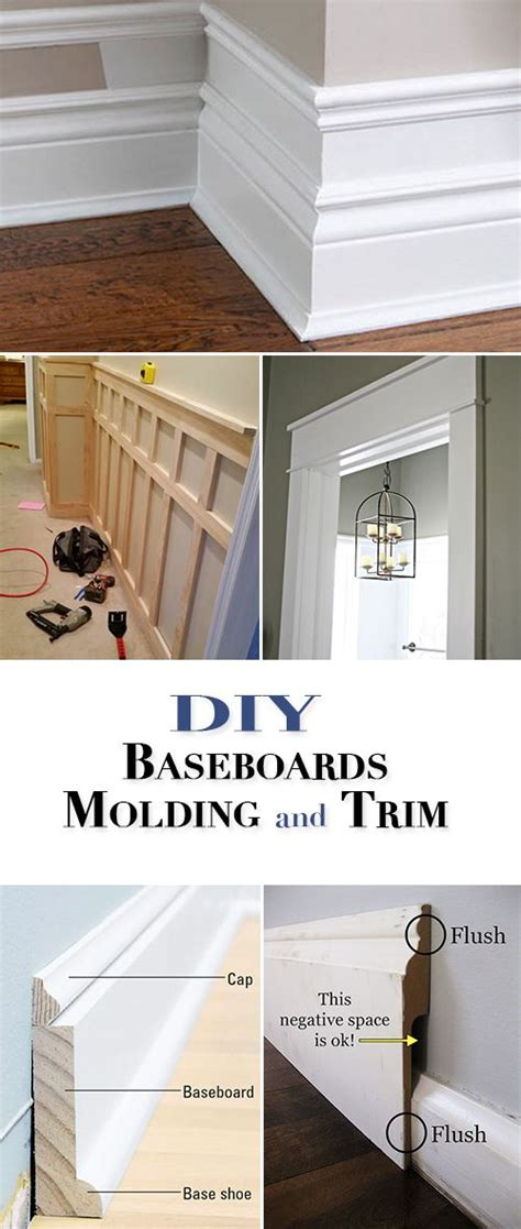 diy basebords molding and trim one of the best home