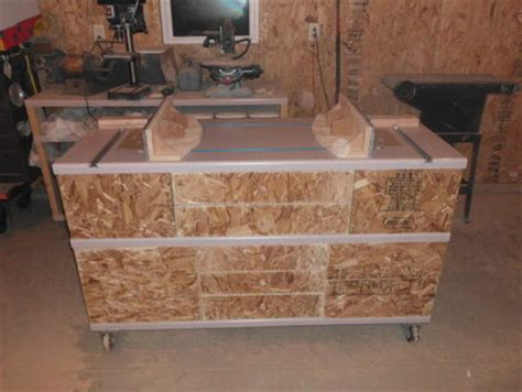 Dual router table and storage unit   by ARedBilly1