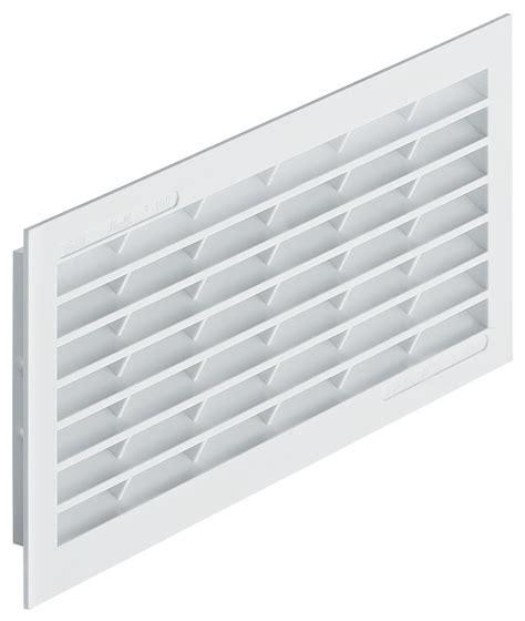 plastic vents for cabinets hafele 571 64 726 ventilation grill plastic white