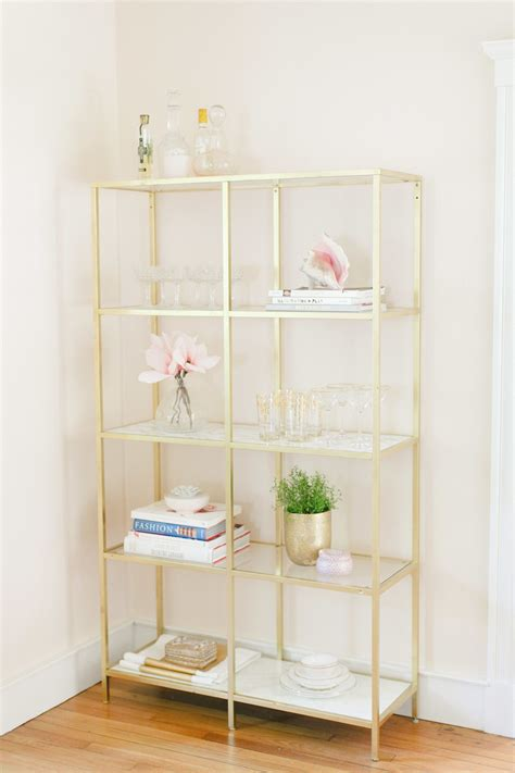 ikea hack gold marble shelves marbles ikea hack and