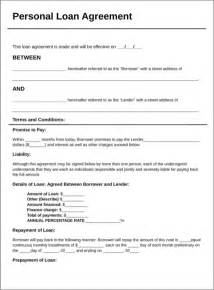 loan contract template loan contract template for excel pdf and word