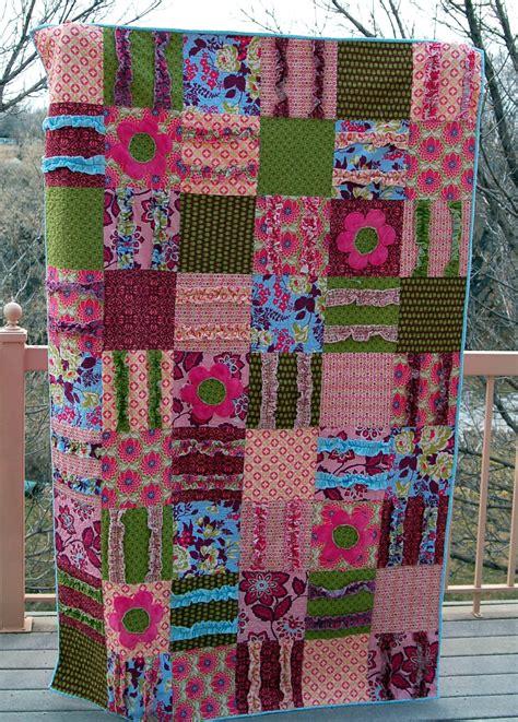 Pink Polka Dot Quilt by Ruffled Quilt Pink Polka Dot Creations