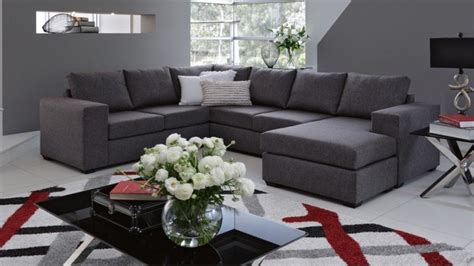 Harvey Norman Living Room Furniture Hellet Fabric Corner Lounge With Chaise And Sofa Bed Lounges Living Room Furniture