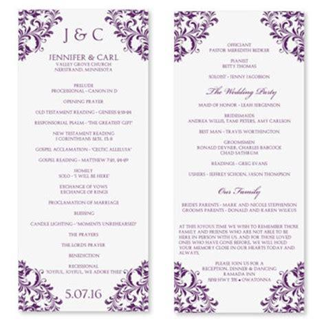 printable fan program fan program template wedding fan template