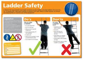 ladder safety student health safety guides at