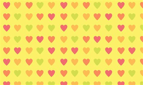100+ Free Valentine and Heart Patterns | Naldz Graphics Yellow Hearts Wallpaper