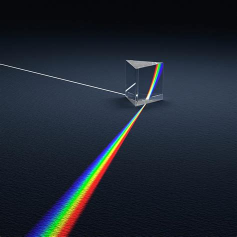 light prism 2 5 prism dispersing light into spectrum photograph by david