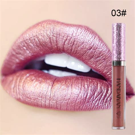 tattoo junkee metallic lip paint spoiled makeup handaiyan diamond shine metallic lipstick charming