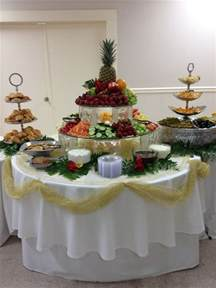 How To Arrange Buffet Table Fruit Veggie Table Shady Oaks Catering Buffet