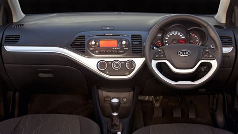 Kia Picanto 2012 Interior sa roadtests mini test 2012 kia picanto 1 2 ex