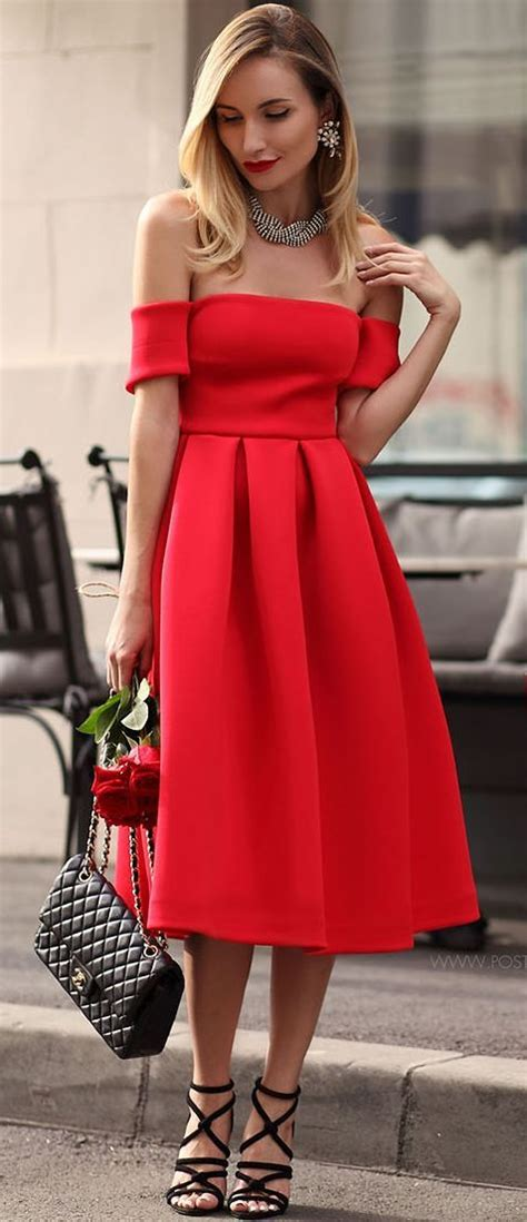 sexy  red dresses  valentines day styleoholic