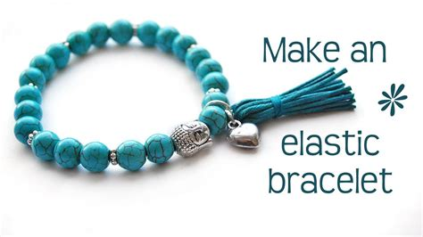 how to make bracelets with make a stretch elastic bracelet best tips
