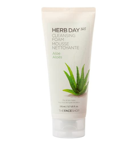 Aloe Vera 9 Day Detox Reviews by Herb Day Cleansing Foam Aloe A The Shop Exclusive