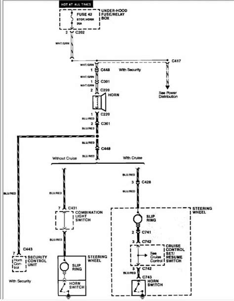 1997 honda civic horn wiring diagram 1997 get any cars