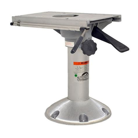how to measure boat seat pedestal springfield fixed height 13 3 8 aluminum boat seat