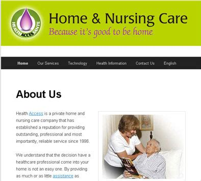 Access Home Care by West Island Home And Nursing Care For Boomers Health Access