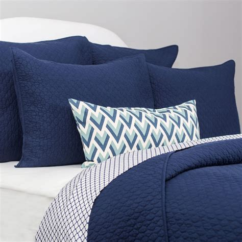 navy blue quilt and sham cloud navy blue crane canopy
