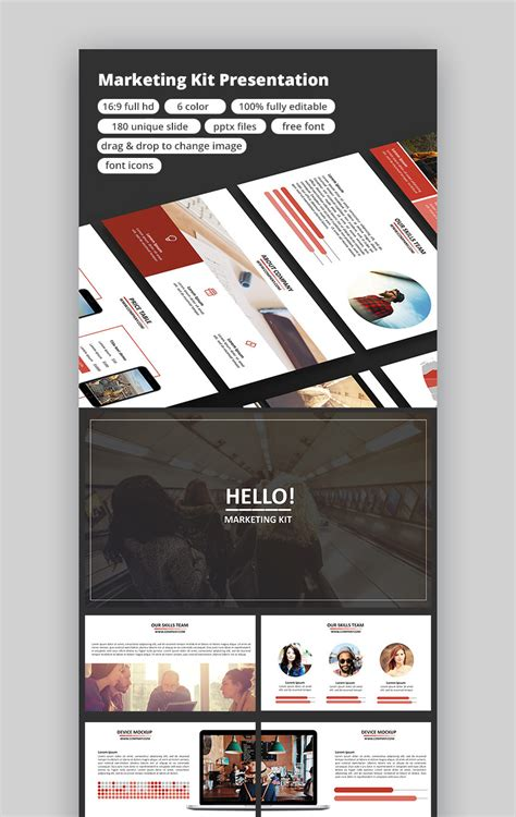 15 Marketing Powerpoint Templates To Present Your Plans Marketing Kit Template